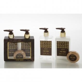 Bath & Body - Sandalwood - Douchegel, Body Lotion & Soap - FOR MEN