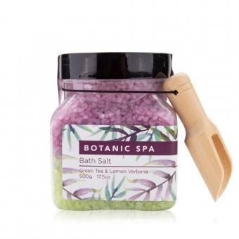 Botanic Spa - Bad Zout - Green Tea & Lemon Verbena
