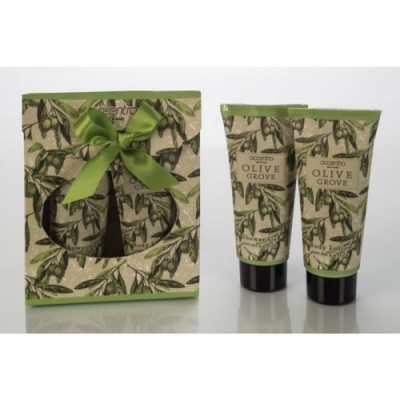 Bad Set - OLIVE - Douchegel & Bodylotion - Groen