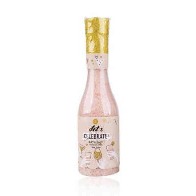 Badzout LET'S CELEBRATE in 'champagne bottle' - Pink / Tea Rose