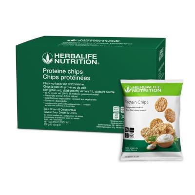 Proteïne chips - Sour Cream & Onion smaak 10 zakjes van 30 gr