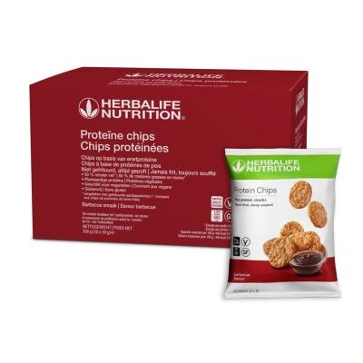 Proteïne chips - Barbecue smaak 10 zakjes van 30 gr