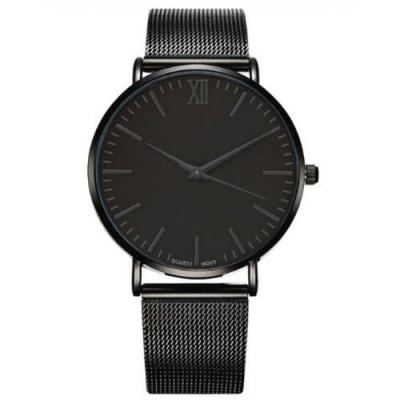 Horloge - Klassiek, Stoer - Zwart - H655