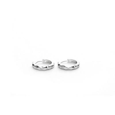 Oorbellen - Ring - Zilverkleurig - OL-ST777