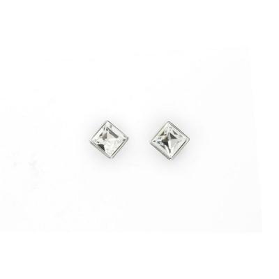 Oorbellen - Kristal Swarovski Verguld Wit OL-ST818