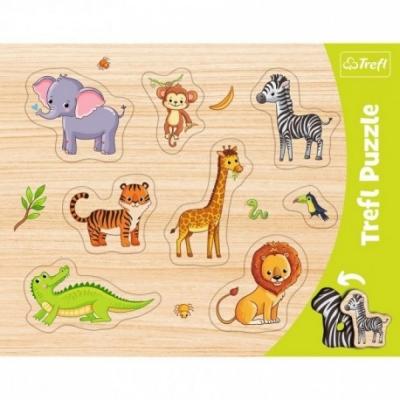 Puzzels - Vorm puzzel - Thema: Dieren - Leeftijd: 3 jaar