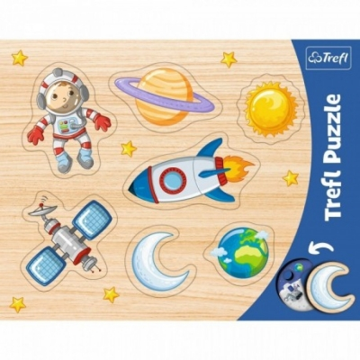 Puzzels - Vorm puzzel - Thema: Ruimte - Leeftijd: 3 jaar