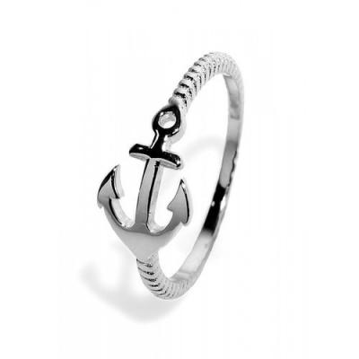 "Ringen: Ring ""Anker"" - 925 zilver - RZ3050"