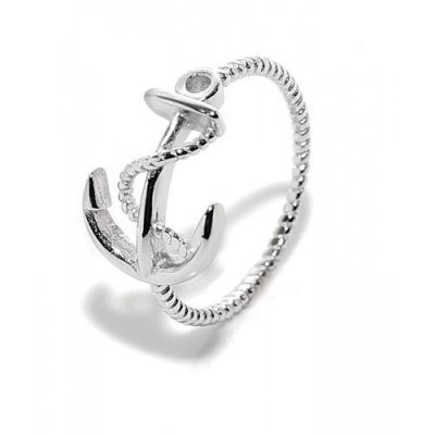 "Ringen: Ring ""Anker"" - 925 zilver - RZ3056"