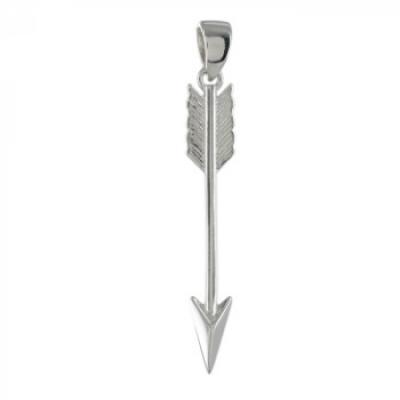 Hanger - Pijl -  Zilver 925 - ZH6681