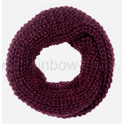 Sjaal 'Loop' - Bordeaux - SJ02N - 75x23 cm