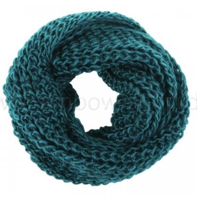 Sjaal 'Loop' - Petrol - SJ02R - 75x23 cm