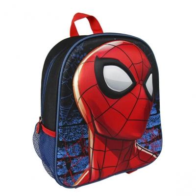 Marvel 3D - school rugzak - Spiderman - Rood/Zwart - 8427934957057
