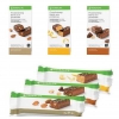 Proefpakket: Proteïnerepen (vanille amandel/ chocolade citroen/ chocolade pinda) (totaal 3 stuks)