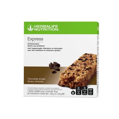 Maaltijdvervangende Chocolade Reep (7 stuks) - (7x56gr)