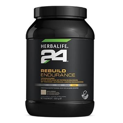H24 Rebuild Endurance - Vanillesmaak - 1000 gram