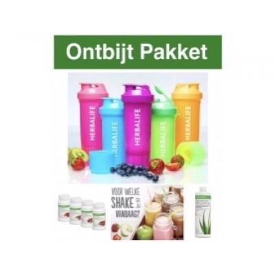 Ontbijt Pakket - (Shake, Thee en Aloe Vera)