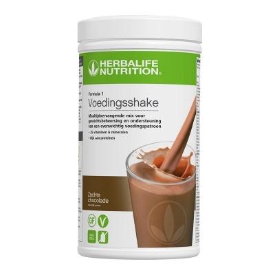 Zachte Chocolade (4468) - 550 gram - Voedingsshake