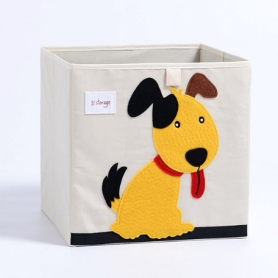 Container - Was- Speelgoed mand (33x33x33cm) - Hond