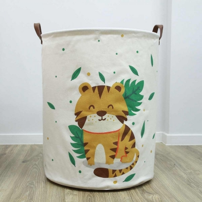 Container - Tas - Wasmand - Dier - Speelgoed mand (Z5)